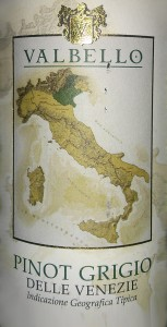 Пино гриджио valbello